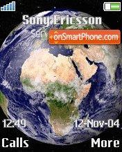 Earth 78 es el tema de pantalla