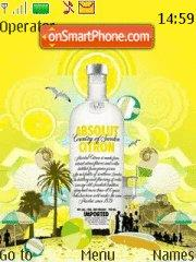 Absolut Citron theme screenshot