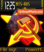 Firestar theme screenshot