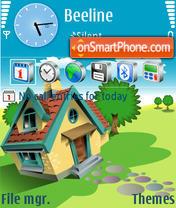 Summer House theme screenshot
