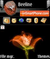Red Rose 01 es el tema de pantalla