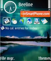 Aurora Reflection theme screenshot