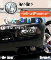 Concept Car 2 theme screenshot