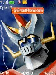 Mazinger Z 01 theme screenshot