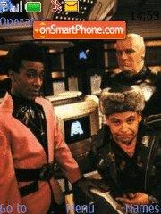 Red Dwarf 01 tema screenshot