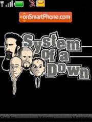 System Of a Down 03 theme screenshot