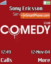 Comedy Club 06 tema screenshot