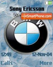 Bmw Logo 01 es el tema de pantalla