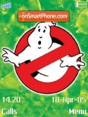Ghostbusters 01 es el tema de pantalla