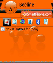 Walkman 07 theme screenshot