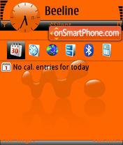 Скриншот темы Walkman 07