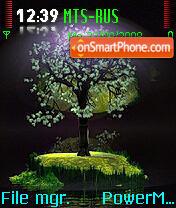 Tree es el tema de pantalla