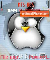 Shell theme screenshot