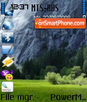 Vista Desktop theme screenshot