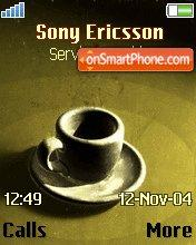 Caup of Coffee theme screenshot