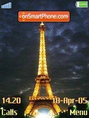 Eiffel Tower 03 es el tema de pantalla