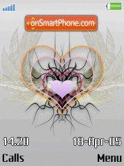 Abstract Heart 01 es el tema de pantalla