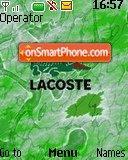 Lacoste Theme-Screenshot