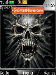 Скриншот темы Black Skull