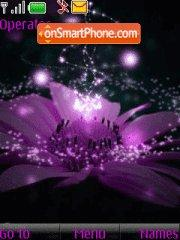 Abstract flower theme screenshot