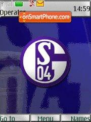 Schalke theme screenshot