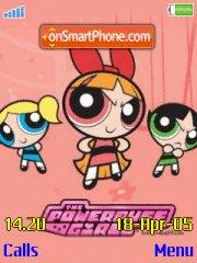 Power Puff Girls es el tema de pantalla