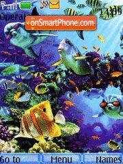Ocean theme screenshot