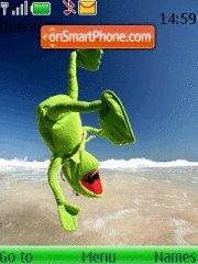 Kermie Frog theme screenshot