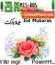 Eid es el tema de pantalla