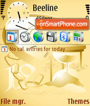 Скриншот темы Time 02