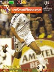 Zidane theme screenshot