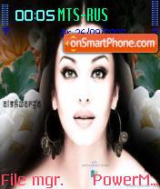 Aish 03 es el tema de pantalla