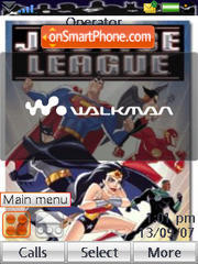Justice League 02 theme screenshot