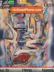 Graffiti 06 theme screenshot