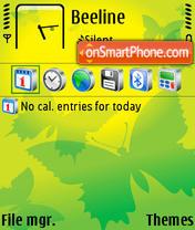 Butterfly Svg theme screenshot