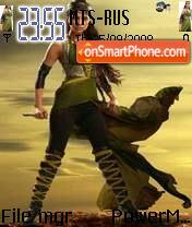 Скриншот темы Priyanka