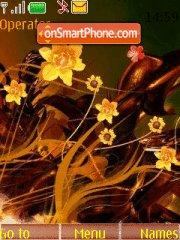Yellow flowers Theme-Screenshot