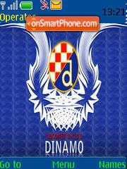 Dinamo Zagreb theme screenshot