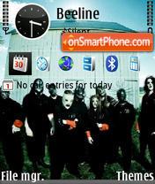 Slipknot In New Mask es el tema de pantalla
