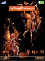 Fairy Autumn es el tema de pantalla