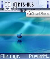 Скриншот темы MacOS 04