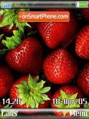Strawberrys es el tema de pantalla