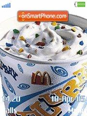 Mc Donalds Mc Flurry tema screenshot