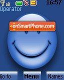 Blue Smile 01 tema screenshot