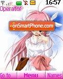 Pink Girl 04 es el tema de pantalla