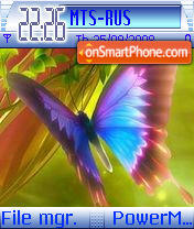 Butterfly 136 theme screenshot
