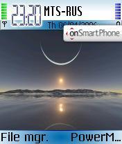 Sky_Digital es el tema de pantalla