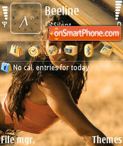 Megan Fox 02 theme screenshot