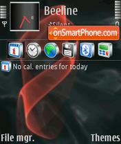 Heavenly theme screenshot