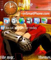 Anime 19 theme screenshot